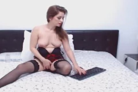 sexy tranny With humongous love muffins Masturbates this guy
