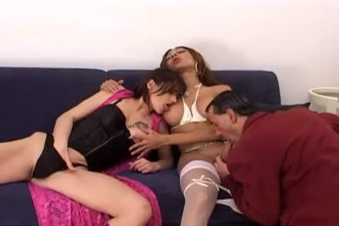 big wobblers ladyboy plows Her favourite couple  Red