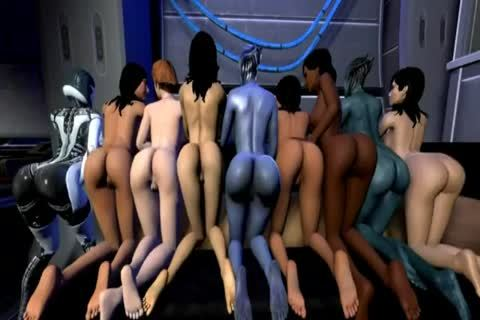 Mass Effect 3D Sex Compilation (three)