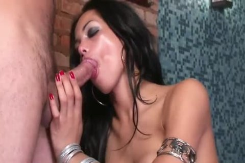 Isabelly Ferraz Sucks rod And Is Buttfucked
