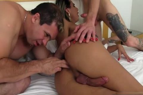 sexy tgirl Dap And ejaculation