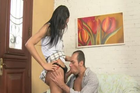 dude butthole nails Schoolgirl lady-man
