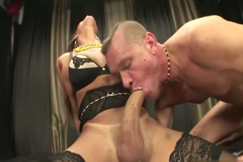 large dong ladyboy painfully And ejaculation