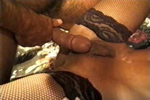 Andrea Nobili bonks ladyboy In Lace nylons another time