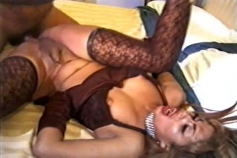 Andrea Nobili plows shemale In Lace nylons