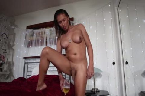 ladyboy Jamie Croft Solo And Pissing