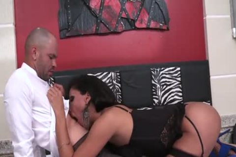 Breasty Latin Ts Jhoany Wilker acquires assfucked