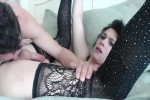 yummy USA tgirl knob Frottage And plowing