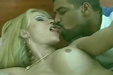 Fervent golderen-haired receives Non-stop dick-sock Sex
