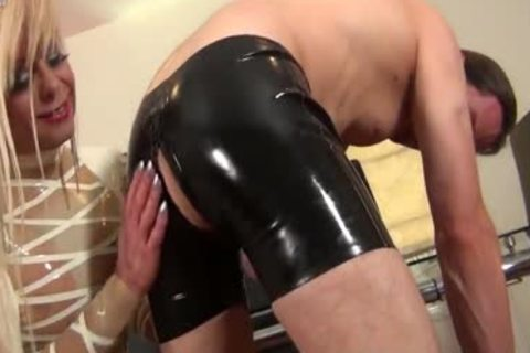 bareback & Latex Loving ladyboy mother I'd like to nail slut