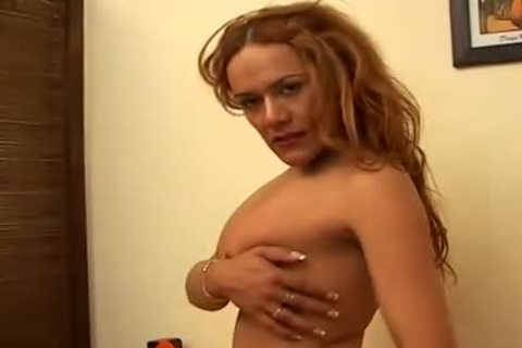 curly transsexual In Uniform hot Solo