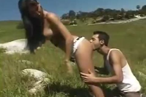 beautiful And Passionate Outdoor Copulation