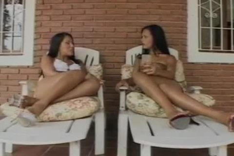 sleazy latina this babemales With man In action