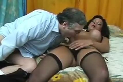 older dude bangls sexual Titty sheboy