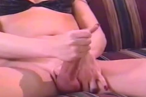 Lonely Vintage TS MILF Jerks On pictures