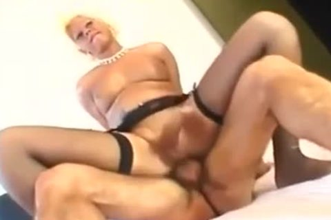 older transsexual Pleases Two men