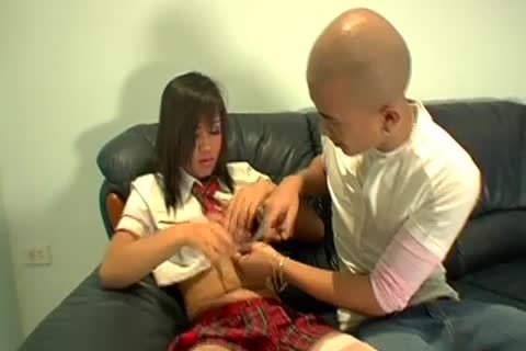Notorious asian t-girl unprotected anal Injection Session